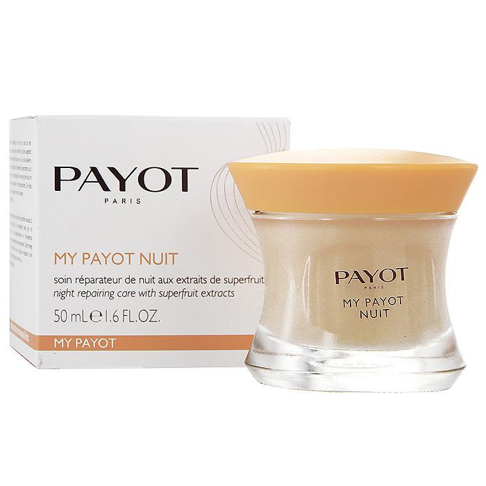 Средство для лица Payot, ночное, восстанавливающее, с активными растительными экстрактами, 50 мл payot интенсивно укрепляющее и подтягивающее средство perform lift для лица 50 мл