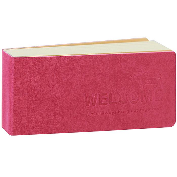 Блокнот LoveHolic, цвет: малиновый72523WDБлокнот LoveHolic в мягкой обложке оригинального дизайна - яркий аксессуар человека, ценящего практичные и оригинальные вещи. Внутренний блок выполнен из плотной нелинованной бумаги кремового цвета. Страницы с забавными иллюстрациями вдохновят вас на творческие мысли и сделают вашу жизнь яркой и солнечной. Блокнот небольшого формата, поэтому его удобно брать с собой.Блокнот LoveHolic - прекрасный подарок и незаменимый аксессуар современного человека. Характеристики:Материал: пластик, бумага. Размер блокнота: 12,5 см х 5,5 см х 2 см. Производитель: Китай.