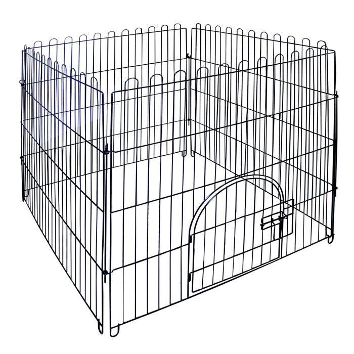 Вольер для животных Triol, 84 см х 95 см х 84 см0120710Вольер для животных Triol выполнен из эмалированного металла. Предназначен для содержания животных. Имеется дверца, закрывающаяся на замок. Размер секции: 84 см х 95 см. Размер вольера: 84 см х 95 см х 84 см.