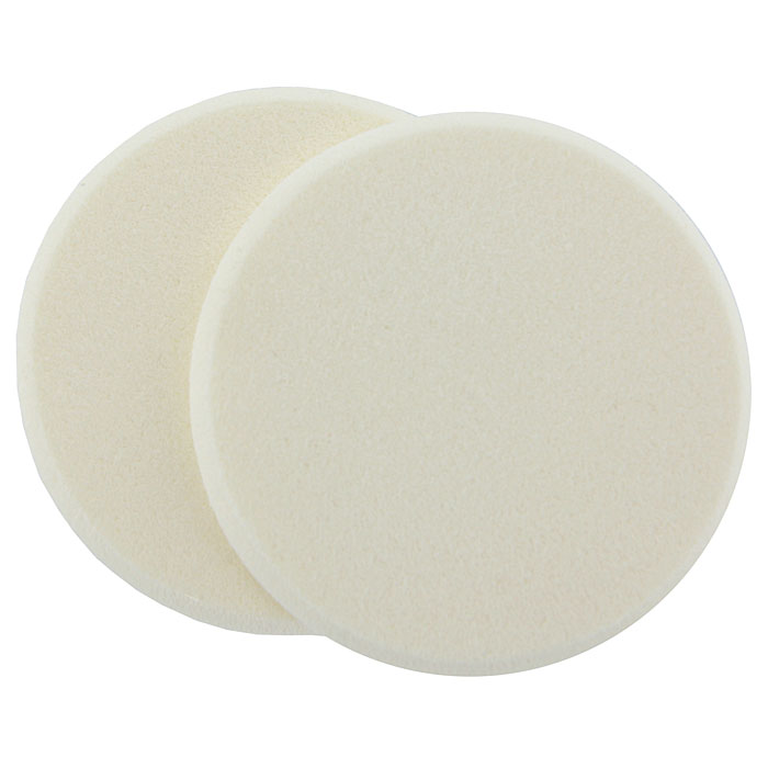 Губка косметическая Riffi Перфект для нанесения макияжа, круглая, 2 шт. 3901 кисточка riffi перфект для сухой пудры малая 3971