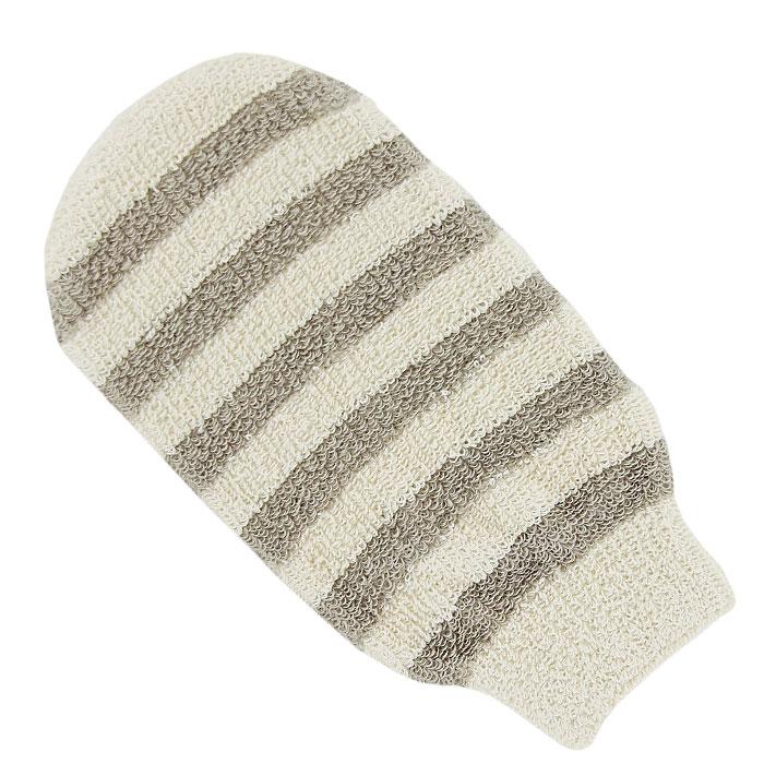Мочалка-рукавица массажная Riffi. 4115010777139655Мочалка-рукавица Riffi идеально подходит для мытья тела, массажа и пилинга в душе. Льняные полоски придают массажу мягкость, не раздражая даже особо чувствительную кожу. Биоорганически выращенный лен и хлопок гарантируют высокую гигиеничность массажа, повышают его антицеллюлитную эффективность и способствуют глубокой очистке даже самой сильно пористой кожи.Интенсивный и пощипывающе свежий массаж тела с применением Riffi стимулирует кровообращение, активирует кровоснабжение и улучшает общее самочувствие. Благодаря отшелушивающему эффекту кожа освобождается от отмерших клеток, становится гладкой, упругой и свежей. Riffi регенерирует кожу, делает ее приятно нежной, мягкой и лучше готовой к принятию косметических средств. Приносит приятное расслабление всему организму. Борется со спазмами и болями в мышцах, предупреждает образование целлюлита и обеспечивает омолаживающий эффект. Моет легко и энергично. Быстро сохнет. Биологически чистые материалы предохраняют особо нежную и чувствительную кожу от раздражений при массаже. Характеристики:Материал: 88% БИО-хлопок, 12% БИО-лен. Размер мочалки: 22 см x 12 см x 1 см. Размер упаковки: 26 см x 13,5 см x 1 см. Производитель: Германия. Артикул:411. Товар сертифицирован.