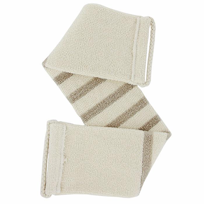 Мочалка-пояс Riffi, мягкая. 4215010777139655Мочалка-пояс Riffi используется для мягкого ухода за телом, обладает активным пилинговым действием, тонизируя, массируя и эффективно очищая вашу кожу. Льняные полоски придают массажу мягкость, не вызывая раздражений даже на чувствительной коже. Биоорганически выращенные лен и хлопок гарантируют высокую гигиеничность массажа и повышают его антицеллюлитное действие. Поясом удобно массировать спину и бедра. Для удобства применения мочалка снабжена двумя веревочными ручками.Благодаря отшелушивающему эффекту мочалки-пояса, кожа освобождается от отмерших клеток, становится гладкой, упругой и свежей. Массаж тела с применением Riffi стимулирует кровообращение, активирует кровоснабжение, способствует обмену веществ, что в свою очередь позволяет себя чувствовать бодрым и отдохнувшим после принятия душа или ванны. Riffi регенерирует кожу, делает ее приятно нежной, мягкой и лучше готовой к принятию косметических средств. Приносит приятное расслабление всему организму. Борется со спазмами и болями в мышцах, предупреждает образование целлюлита и обеспечивает омолаживающий эффект. Натуральные и биологически чистые материалы предохраняют от раздражений даже самую нежную и особо чувствительную кожу во время массажа. Характеристики:Материал: 88% БИО-хлопок, 12% БИО-лен. Длина пояса (без учета ручек): 66 см. Ширина пояса: 12,5 см. Размер упаковки: 26,5 см x 14 см x 3 см. Производитель: Германия. Артикул:421. Товар сертифицирован.