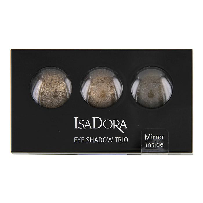 Тени для век Isa Dora Eye Trio, запеченные, 3 цвета, тон №83, цвет: гавана коричневая, 1,8 г122583Запеченные тени для век от Isa Dora Eye Trio обладают уникальной формулой: невесомой текстурой и потрясающим мерцающим эффектом. Три оттенка в палетке идеально подобраны для создания восхитительного эффекта. Шелковистая консистенция создает идеально стойкое мерцающее покрытие. Насыщенная красящими пигментами формула обеспечивает яркий и стойкий цвет теней. Высококачественный двухсторонний аппликатор позволяет наносить тени и проводить контур. Характеристики: Вес: 1,8 г. Тон: №83 (гавана коричневая). Производитель: Швеция. Артикул:1225. Товар сертифицирован.
