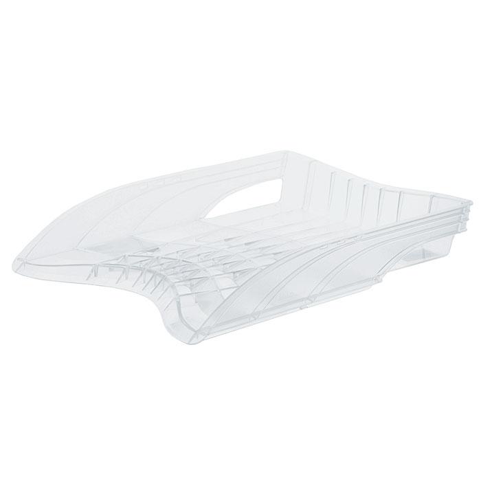 Лоток для бумаг горизонтальный Erich Krause S-Wing, цвет: прозрачныйFS-00264Лоток для бумаг Erich Krause S-Wing - незаменимый офисный атрибут. Лоток выполнен из ударопрочного прозрачного пластика с оригинальным дизайном корпуса. С лотком для бумаг S-Wing у вас больше не возникнут сложности с поддержанием порядка на столе! Характеристики:Размер лотка: 37 см x 27 см x 6 см. Изготовитель: Россия. Бренд Erich Krause - это полный ассортимент канцтоваров для офиса и школы, который гарантирует безукоризненное исполнение разных задач в процессе работы или учебы, органично и естественно сопровождает вас день за днем. Для миллионов покупателей во всем мире продукция Erich Krause стала верным и надежным союзником в реализации любых проектов и самых амбициозных планов. Высококвалифицированные специалисты Erich Krause прилагают все свои усилия, что бы каждый продукт компании прослужил максимально долго и неизменно радовал покупателей удобством и легкостью использования, надежностью в эксплуатации и прекрасным дизайном.