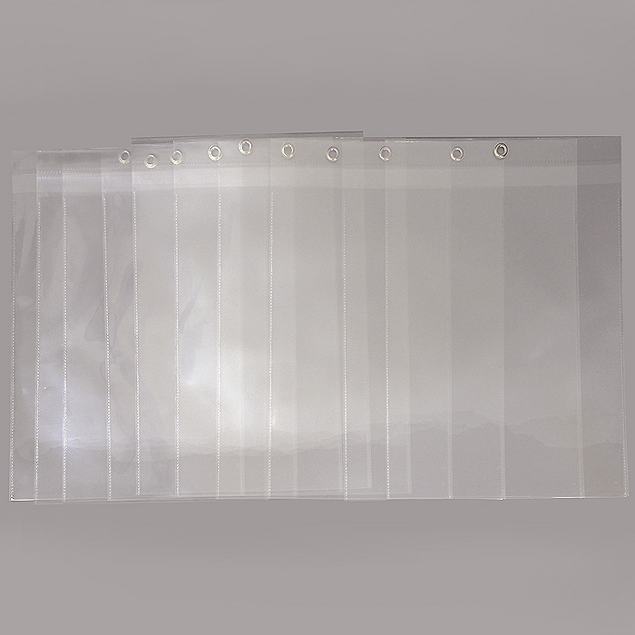 """Карман подвесной """"Crystal Clear"""" используется для презентации информационных материалов. Отверстие, Усиленное металлическим кольцом, позволяет подвесить карман для демонстрации содержимого. Увеличенная толщина высокопрозрачной пленки и дополнительный клапан защищает информационный лист от внешних воздействий и механических повреждений."""