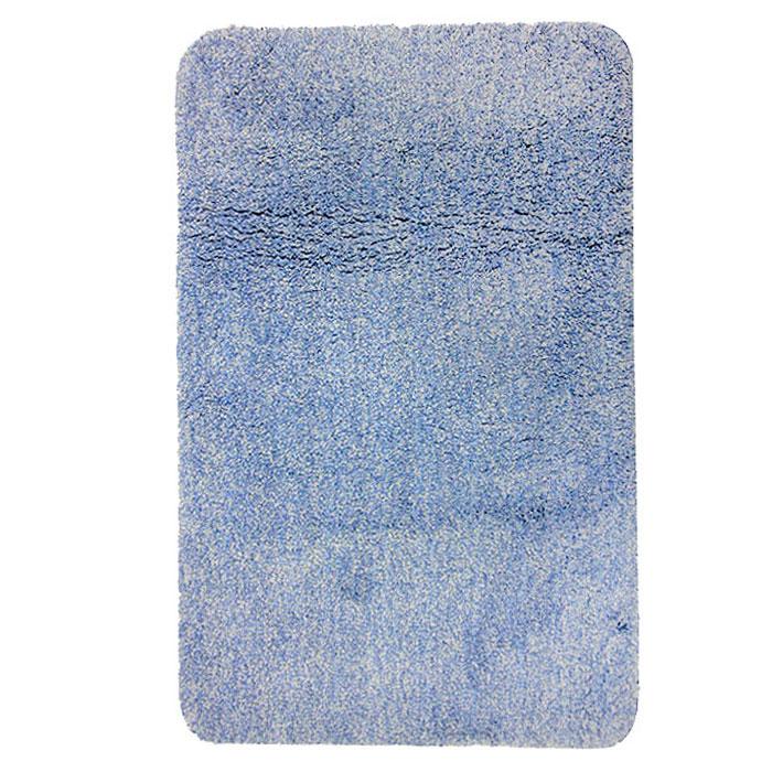 Коврик для ванной комнаты Gobi, цвет: светло-голубой, 60 х 90 см41619Коврик для ванной комнаты Gobi светло-голубого цвета выполнен из полиэстера высокого качества. Прорезиненная основа коврика позволяет использовать его во влажных помещениях, предотвращает скольжение коврика по гладкой поверхности, а также обеспечивает надежную фиксацию ворса. Коврик добавит тепла и уюта в ваш дом. Характеристики: Материал: 100% полиэстер. Цвет:светло-голубой. Размер:60 см х 90 см. Производитель: Швейцария. Изготовитель: Китай. Артикул:1012424.
