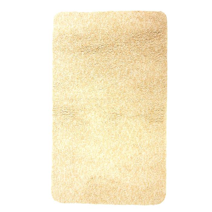 Коврик для ванной комнаты Gobi, цвет: светло-бежевый, 60 х 90 см391602Коврик для ванной комнаты Gobi светло-бежевого цвета выполнен из полиэстера высокого качества. Прорезиненная основа коврика позволяет использовать его во влажных помещениях, предотвращает скольжение коврика по гладкой поверхности, а также обеспечивает надежную фиксацию ворса. Коврик добавит тепла и уюта в ваш дом. Характеристики: Материал: 100% полиэстер. Цвет:светло-бежевый. Размер:60 см х 90 см. Производитель: Швейцария. Изготовитель: Китай. Артикул:1012516.