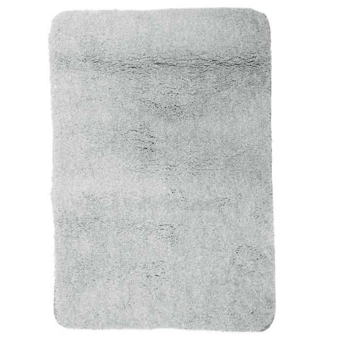 Коврик для ванной комнаты Gobi, цвет: светло-серый, 60 х 90 см41619Коврик для ванной комнаты Gobi светло-серого цвета выполнен из полиэстера высокого качества. Прорезиненная основа коврика позволяет использовать его во влажных помещениях, предотвращает скольжение коврика по гладкой поверхности, а также обеспечивает надежную фиксацию ворса. Коврик добавит тепла и уюта в ваш дом. Характеристики: Материал: 100% полиэстер. Цвет:светло-серый. Размер:60 см х 90 см. Производитель: Швейцария. Изготовитель: Китай. Артикул:1012511.
