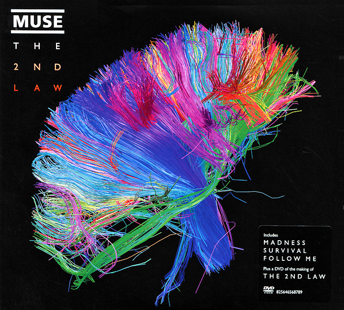 Muse Muse. The 2nd Law (CD + DVD) muse burning skies