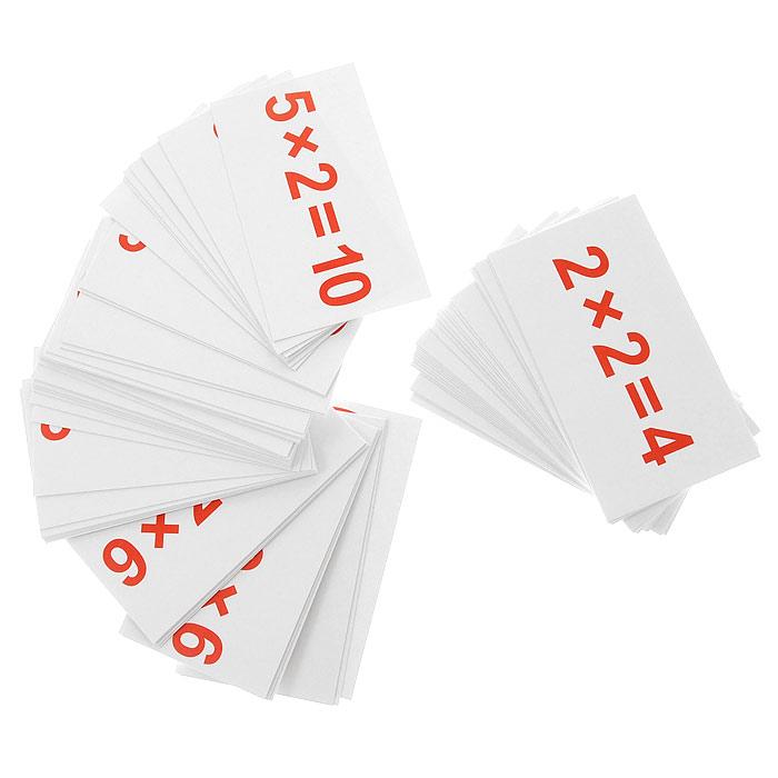 Вундеркинд с пеленок Обучающие карточки Умножение