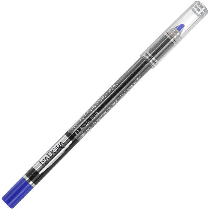 Контурный карандаш для глаз Isa Dora Perfect Contour Kajal, тон №67, цвет: королевский синий, 1,2 г81435688Контурный карандаш для глаз Isa Dora Perfect Contour Kajal обладает специальной мягкой формулой, которая обеспечивает легкое точное нанесение. Карандаш легко растушевывается, стойкий и влагоустойчивый. Характеристики: Вес: 1,2 г. Тон: №67 (королевский синий). Длина карандаша: 12,5 см. Производитель: Швеция. Артикул:1138. Товар сертифицирован.