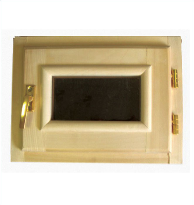 Форточка со стеклопакетом Банные штучки, 40 х 40 см787502Горизонтальная форточка со стеклопакетом Банные штучки изготовлена из липы и имеет вставку из стекла. В комплект входит: - Створка с однокамерным стеклопакетом (2 стекла); - Коробка из липы; - Петли; - Врезной замок; - 4 самореза; - Ручка-затвор. Форточка уже собрана и готова к использованию, вам только достаточно прикрутить ручку и установить стеклопакет в проем. Окна и форточки в парной используют для быстрого выветривания влаги в помещении после банных процедур. Это продлевает срок службы деревянной обшивки, снижается риск образования плесени и грибка внутри помещения. Характеристики:Материал: дерево (липа), металл, стекло. Размер форточки: 40 см х 40 см. Размер упаковки: 41 см х 10 см х 41 см.