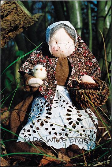 """Набор для изготовления вальфдорской игрушки """"Бабушка"""", 26 см, De Witte Engel"""