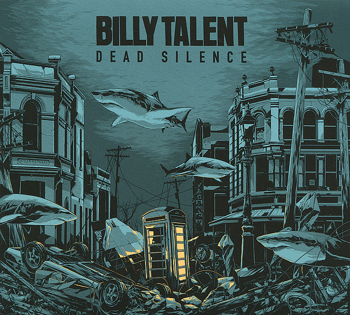 Билли Тэлент Billy Talent. Dead Silence (2 LP + CD) барбра стрейзанд barbra streisand partners 2 lp cd