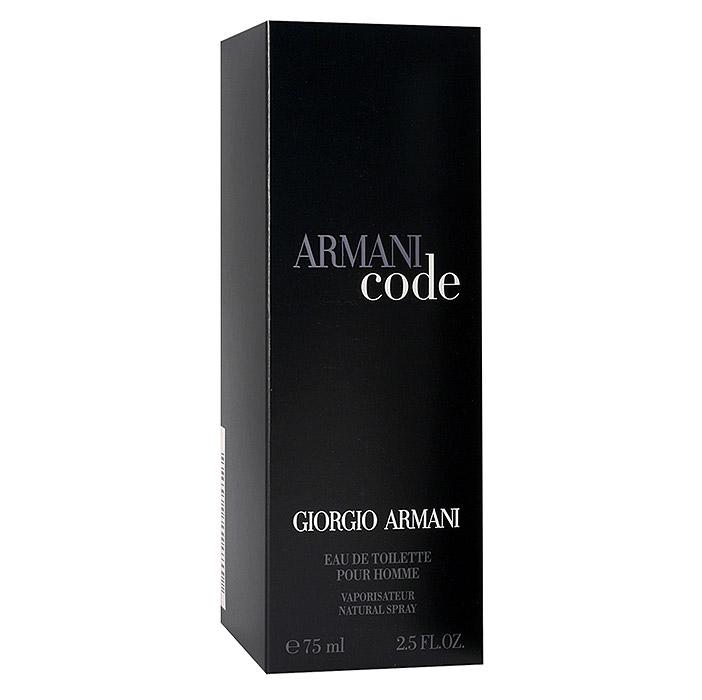Giorgio Armani Armani Code Homme. Туалетная вода, мужская, 75 мл franck olivier туалетная вода sunrise мужская 75 мл