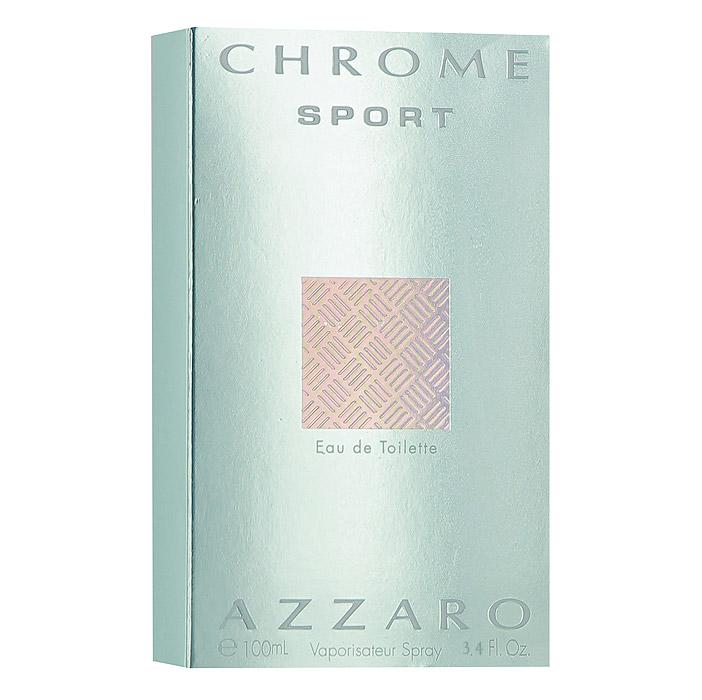 """Фото Azzaro """"Chrome Sport"""", туалетная вода мужская, 100 мл. Покупайте с доставкой по России"""