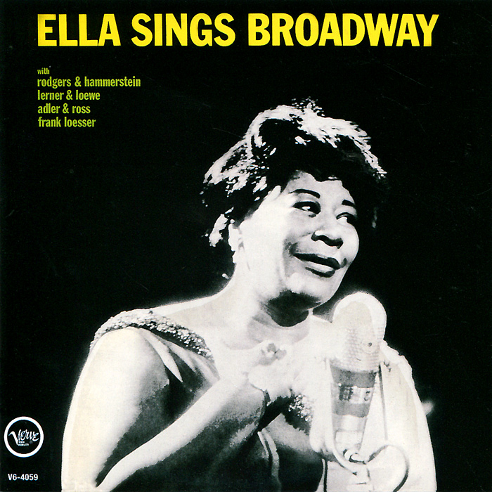 Элла Фитцжеральд Ella Fitzgerald. Ella Sings Broadway / Rhythm Is My Business элла фитцжеральд ella fitzgerald sings the cole porter song book 2 cd