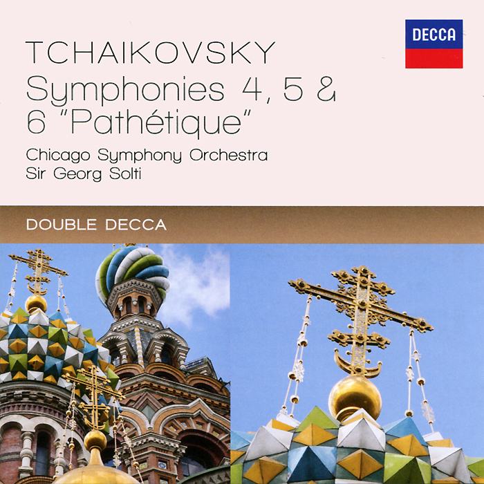 Георг Шолти,Chicago Symphony Orchestra Sir Georg Solti, Chicago Symphony Orchestra. Tchaikovsky. Symphonies 4 - 6 (2 CD) sir andrew davis williams the symphonies 6 cd