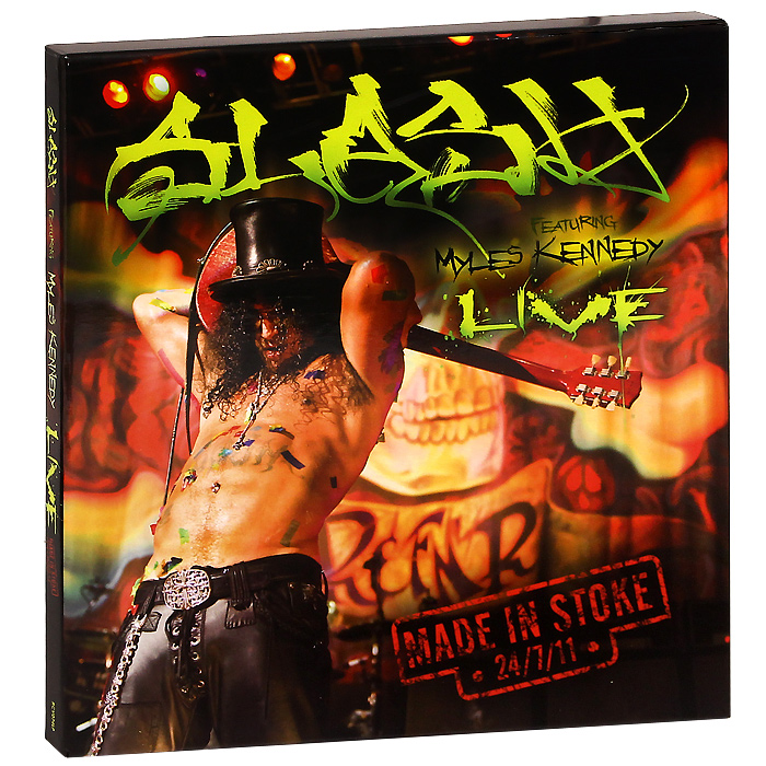 Slash Slash. Made In Stoke 24.07.11. Live (3 LP) supertramp supertramp breakfast in america lp