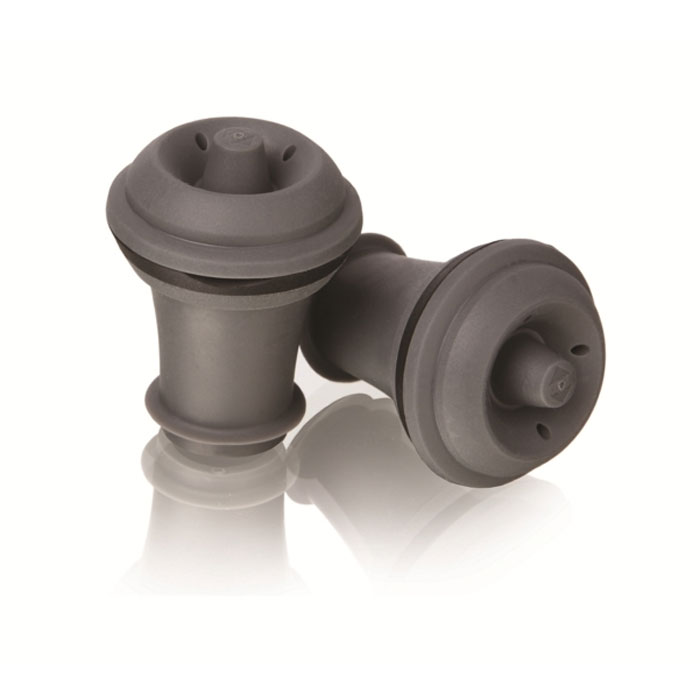 Набор пробок VacuVin, 2 шт4630003364517Пробки VacuVin, изготовленные из высококачественной резины, используются в комбинации с вакуумным насосом. Они замедляют окислительный процесс и подходят для многоразового использования. В набор входят 2 пробки. Эти пробки подходят для всех вакуумных продуктов, производящихся под торговой маркой VacuVin. Характеристики:Материал: резина. Длина пробки: 4,5 см. Диаметр пробки: 3,2 см. Комплектация: 2 шт. Размер упаковки: 16 см х 10,5 см х 3,2 см. Производитель: Нидерланды. Артикул: 0884060.