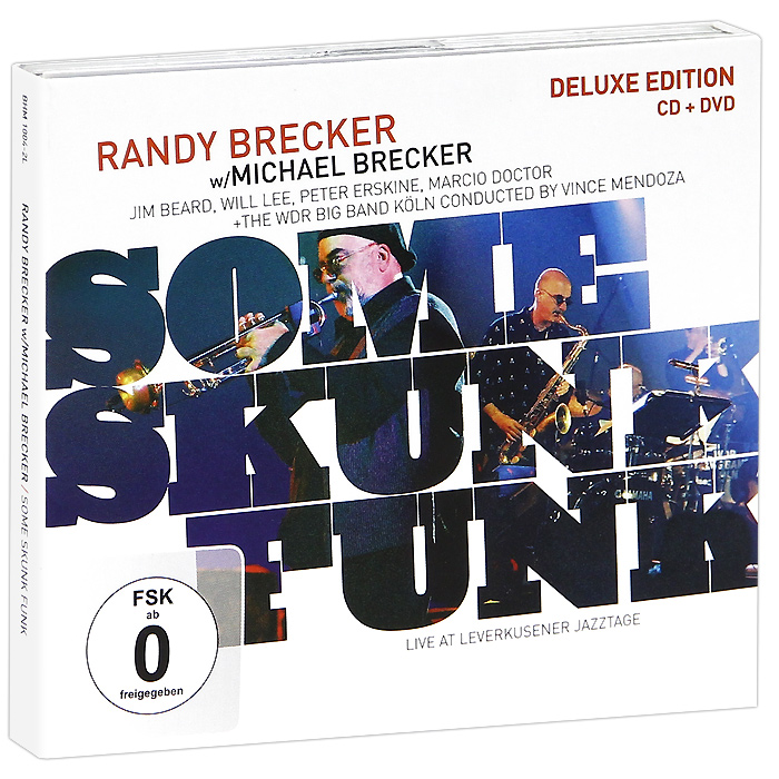 Рэнди Бреккер,Майкл Брекер Randy Brecker, Michael Brecker. Some Skunk Funk. Deluxe Edition (CD + DVD) michael burns digital sci fi art