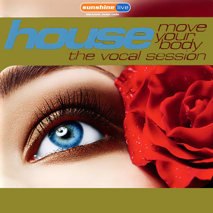 House.  The Vocal Session.  Move Your Body (2 CD) ZYX Music,Концерн