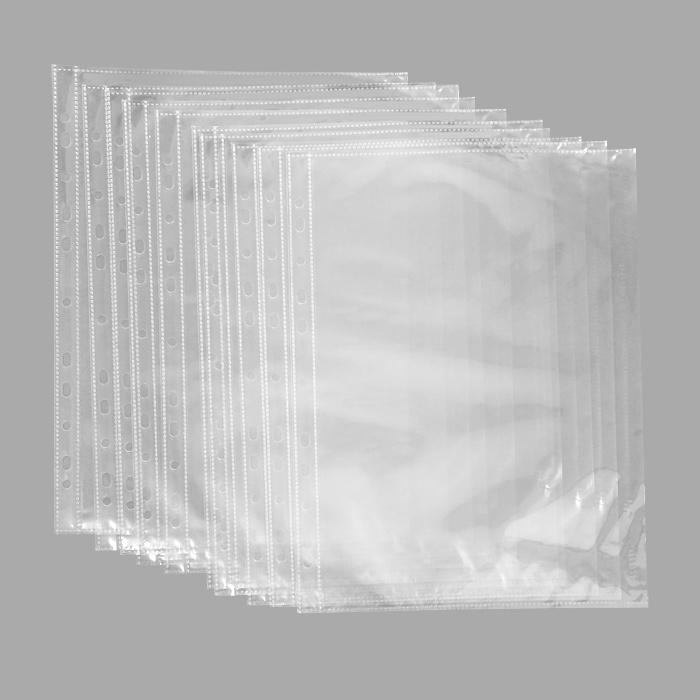 Файл-вкладыш Erich Krause Crystal Clear, с боковой загрузкой, формат А430636Прозрачный перфофайл Erich Krause Crystal Clear обеспечивает сохранность листов, надежно защищая документы от грязи и пыли. Боковая загрузка документов со стороны механизма архивной папки предотвращает выпадение листов из перфофайла при транспортировке. Изготовлен из высококачественной прозрачной полипропиленовой пленки и снабжен универсальной боковой перфорацией, совместимой со всеми видами кольцевых механизмов и скоросшивателей. Характеристики:Размер файла: 30,5 см x 23,5 см. Формат: А4. Количество: 10 шт. Изготовитель: Китай.