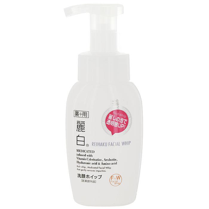 Крем-пенка для лица Kumano Reihaku, 200 мл66884Крем-пенка для лица Kumano Reihaku изготовлена на основе растительных экстрактов. Мягко очищает кожу лица. Успокаивает, предотвращает покраснение, образование пигментных пятен, обладает противоаллергическим действием. Входящая в состав гиалуроновая кислота способствует регенерации тканей, делает кожу более мягкой и гладкой. Способ применения: выдавите небольшое количество пенки на руку, нанесите на влажное лицо, вспеньте, затем тщательно смойте теплой водой. Характеристики:Объем: 200 г. Артикул: KY-65. Производитель: Япония. Товар сертифицирован.