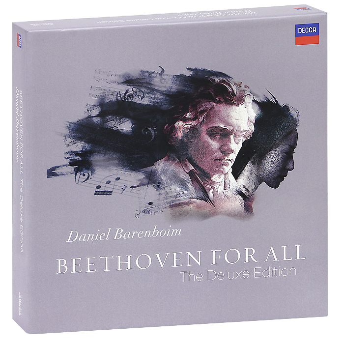 Daniel Barenboim. Beethoven. Beethoven For All. The Deluxe Edition (19 CD + DVD) джеймс блант james blunt all the lost souls deluxe edition cd dvd