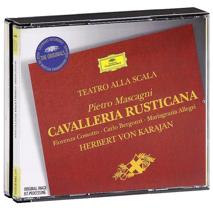 Coro E Orchestra Del Teatro Alia Scala, Milano,Герберт Караян Herbert Von Karajan. Mascagni. Cavalleria Rusticana