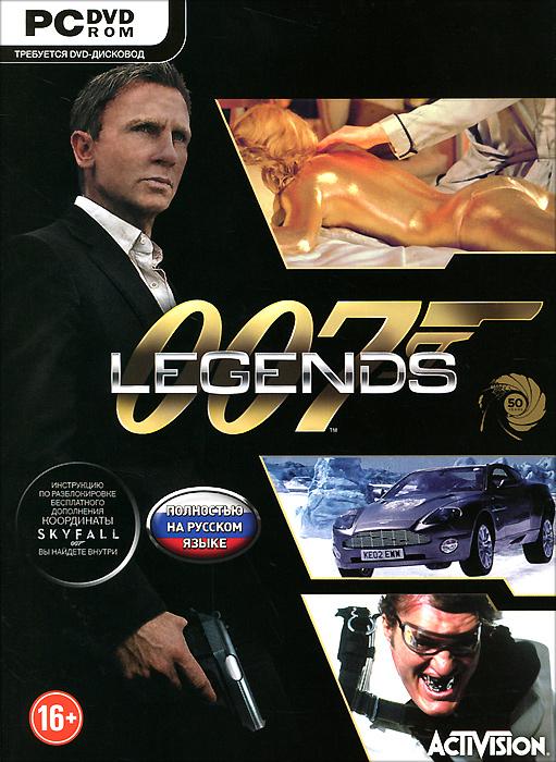 007 Legends (DVD-BOX) экшен камера