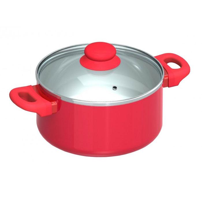 Кастрюля Beka с крышкой, цвет: красный, 2,7л40970Кастрюля Beka, выполненная из алюминия, оснащена крышкой. Крышка, выполненная из стекла, позволит следить за приготовлением пищи. Она оснащена металлическим ободом, а также отверстием для выхода пара. Внутренняя часть кастрюли имеет керамическое антипригарное покрытие. При нагревании покрытие не выделяет никаких веществ, в чем часто упрекают традиционные антипригарные материалы. Выдерживает это покрытие до 220°С. Вымыть такую кастрюлю ничего не стоит: благодаря тому, что поверхность ее идеально гладкая, к ней ничего не прилипает и очищается она одним движением. Ручки кастрюли, выполненные из пластика, покрыты прорезиненным покрытием, что позволит вам забыть о прихватках.Кастрюля подходит для всех видов плит, кроме индукционных. Ярко-красная кастрюля - отличный предмет для жизнерадостного кухонного интерьера. Характеристики:Материал:алюминий, стекло, пластик. Объем кастрюли: 2,7 л. Внутренний диаметр кастрюли: 20 см. Толщина стенки кастрюли:0,5 см. Высота стенок кастрюли:9 см. Толщина дна кастрюли:0,4 см. Размер упаковки:35 см х 11 см х 21 см. Производитель:Бельгия. Артикул:40041206. Бельгийская компанияBeka является одним из крупнейших и старейших европейских производителей посуды.Beka предлагает широкий ассортимент посуды из экологически чистых материалов, произведенной без использования ядовитых химикатов, абсолютно безвредной для человека и окружающей среды. В ассортиментеBeka присутствует чугуннаяпосуда,входящая в классические серии.