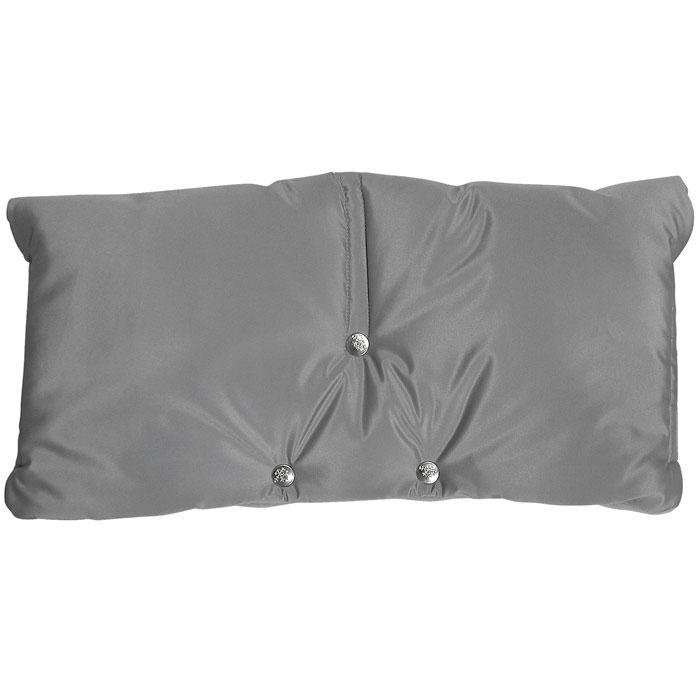 Муфта для рук на коляску  Чудо-Чадо , флисовая, цвет: серый. МКФ03-001 - Коляски и аксессуары