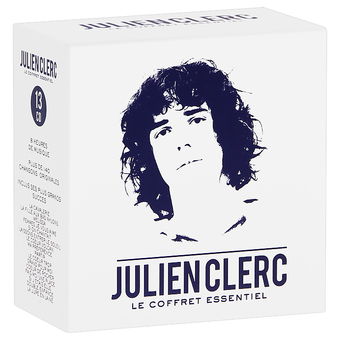 Julien Clerc. Le Coffred Essentiel (13 CD)
