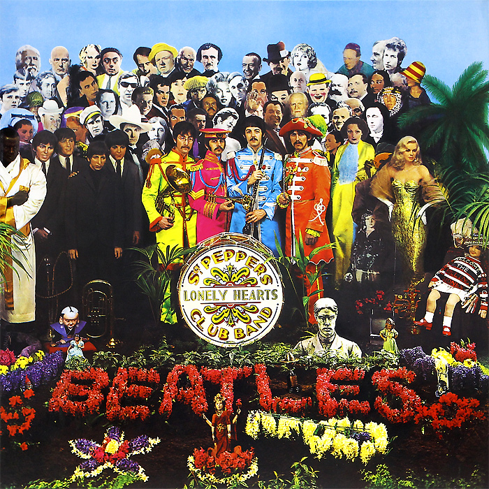 The Beatles The Beatles. Sgt. Pepper's Lonely Hearts Club Band (LP) the beatles the beatles a hard day s night ecd