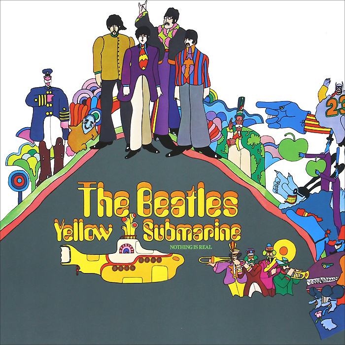 The Beatles. Yellow Submarine (LP)