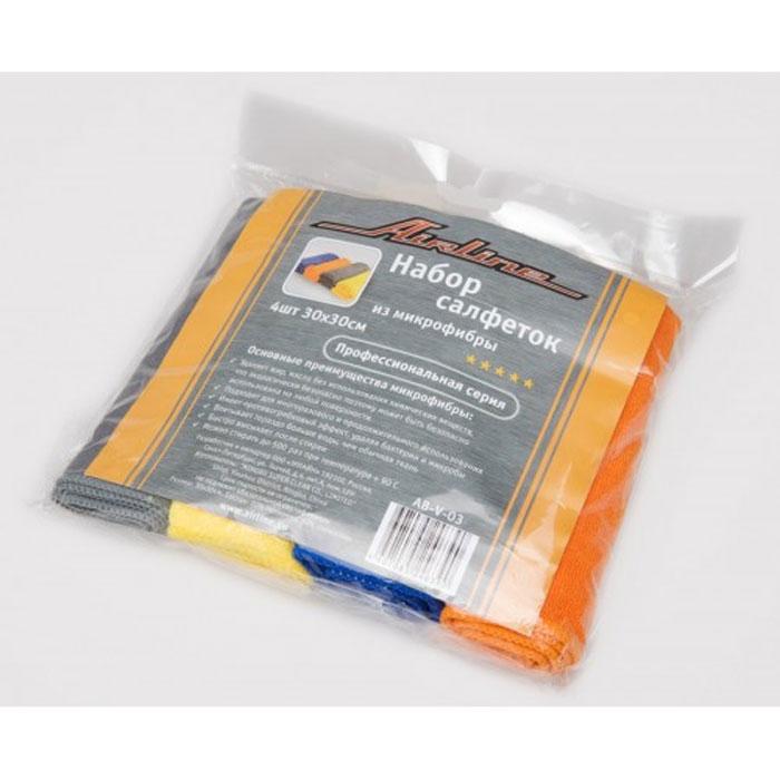 Набор салфеток Airline из микрофибры, 30 х 30 см, 4 штRC-100BWCВ набор Airline входит 4 салфетки, выполненные из микрофибры. Салфетки великолепно удаляют пыль и грязь с любых поверхностей. Могут использоваться не только для мытья, но и для полировки различных поверхностей. Особенности салфеток из микрофибры: - очистка от жиров без химикатов; - не оставляют царапин; - высокое влагопоглощение; - быстро сохнут после стирки; - удаляют микробы и грибки; - не теряют свойств после стирки. Характеристики:Материал: микрофибра. Размер: 30 см х 30 см. Комплектация: 4 шт. Артикул:AB-V-03.УВАЖАЕМЫЕ КЛИЕНТЫ!Обращаем ваше внимание на возможные изменения в дизайне упаковки. Поставка осуществляется в зависимости от наличия на складе. Комплектация осталась без изменений.