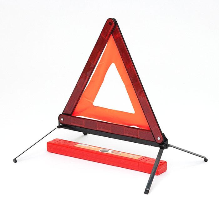 Знак аварийной остановки Airline с металлическим основанием. AT-0394672Знак аварийной остановки применяется для обозначения транспортного средства при вынужденной остановке. Необходим для комплектования каждого автомобиля. Знак аварийной остановки имеет металлическое основание, которое дополнительно утяжелено железной вставкой, что предотвращает сдувание треугольника сильным ветром. Знак обладает хорошей видимостьюдля участников дорожного движения. Особенности знака: оснащен светоотражающими элементами безопасный, компактный пластиковый чехол для хранения знака в комплекте. Характеристики: Материал: пластик, маталл. Высота:39 см. Размер упаковки:43,5 см х 5,5 см х 3 см. Артикул:AT-03.