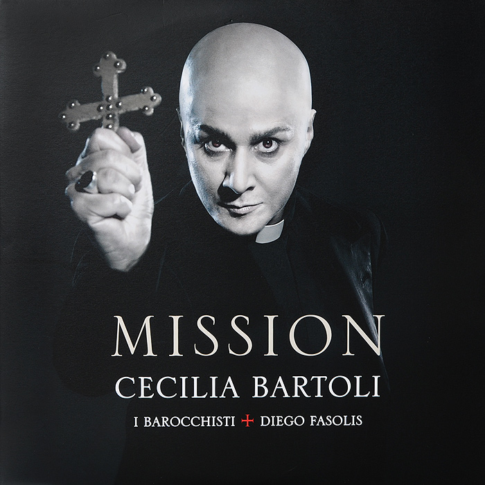 Чечилия Бартоли,Coro Della Radiotelevisione Svizzera,I Barocchisti,Диего Фасолис Cecilia Bartoli. Mission (2 LP)