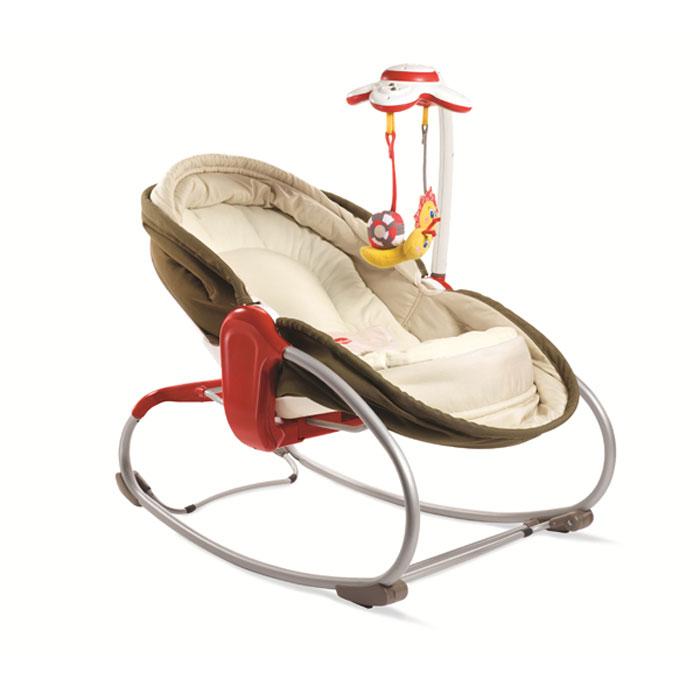 """Люлька - баунсер """"Tiny Love"""" - легкое и удобное кресло-качалка для детей с рождения. Кресло оснащено жестким ортопедическим двусторонним матрасом и мягкой подкладкой, обеспечивающими комфорт вашего малыша. Основные характеристики люльки - баунсера """"Tiny Love"""": Наклон регулируется в трех положениях: сидя, лежа, шезлонг (смена положений осуществляется одной рукой); Трехточечный ремень безопасности; Мягкий чехол; Нескользящие ножки; Подвижная дуга, обеспечивающая легкий и удобный доступ к ребенку; Успокаивающая вибрация не вызывает привыкание, расстройства и нарушение вестибулярного аппарата; Музыкальный мобиль (9 мелодий) с двумя подвесными игрушками (улитка с шуршащими элементами и цветок см безопасным зеркалом); Возможность отключения вибрации; Механическая люлька, которая позволит маме укачивать малыша, а специальные стопперы и регулятор высоты кресла позволят, как зафиксировать его в положении полулежа, так и превратить в уютную..."""
