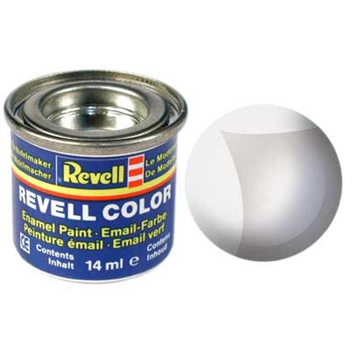 """Обычно детали для сборки моделей """"Revell"""" окрашены в ровный цвет, но при их соединении возможно появление пятен клея, портящих внешний вид изделия. Бесцветная краска """"Revell"""" придает окончательный блеск собранным моделям."""