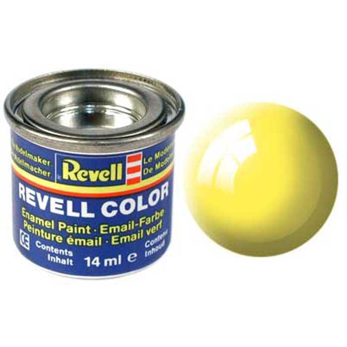 """Глянцевая краска """"Revell"""" желтого цвета отлично наносится, быстро высыхает и идеально сочетается с другими красками из этой же серии. Если хочется провести небольшие эксперименты, можно приобрести основные цвета, и путем комбинирования, самостоятельно изготовить необходимый оттенок краски. Однако не стоит забывать, что для этого лучше всего брать однотипные краски, имеющие идентичный состав. Краска упакована в экономичную банку, что позволяет экономично ее расходовать, а после использования банку можно закрыть крышкой, чтобы избежать высыхания."""