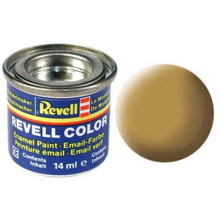 """Матовая краска """"Revell"""" песочного цвета пригодится в качестве фонового цвета для сборных моделей кораблей или автомобилей фирмы """"Revell"""". Краски одного типа отлично комбинируются между собой, поэтому в окраске готового изделия могут применяться самые неожиданные цветовые сочетания. Краска упакована в экономичную банку, что позволяет экономично ее расходовать, а после использования банку можно закрыть крышкой, чтобы избежать высыхания."""