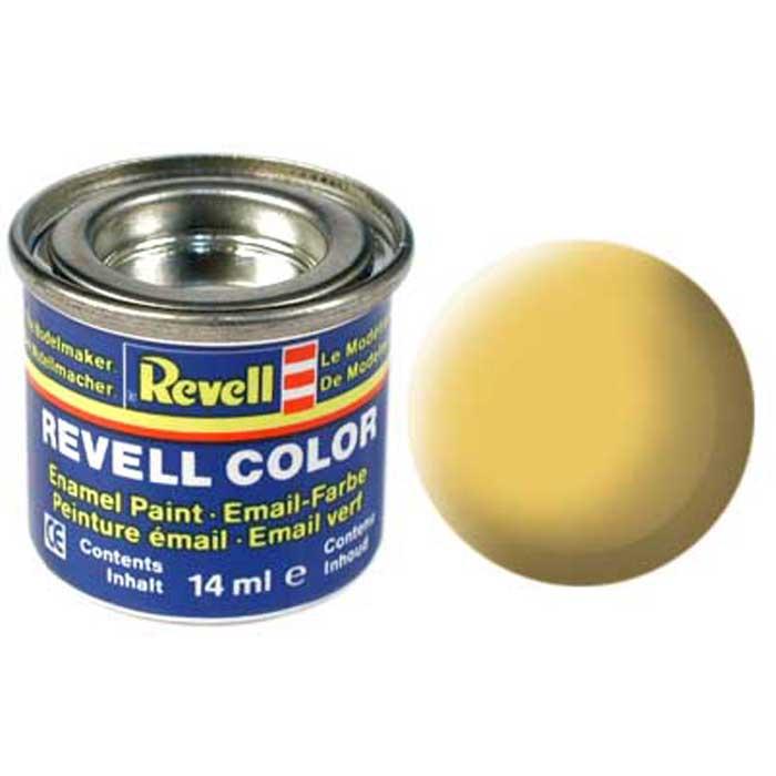 """Матовая краска """"Revell"""" бежевого цвета станет идеальным фоном для яркого узора на собранном корабле или автомобиле. Нанесение краски тонким ровным слоем обеспечивает быстрое высыхание и гладкую поверхность изделия. Краска идеально сочетается не только с однотипными, но и с глянцевыми красками, поэтому можно придумать интересные узоры и нанести их на бежевый фон. Краска упакована в экономичную банку, что позволяет экономично ее расходовать, а после использования банку можно закрыть крышкой, чтобы избежать высыхания."""
