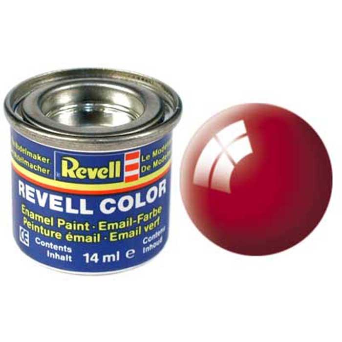 """Глянцевая краска """"Revell"""" огненно-красного цвета отлично подойдет для оформления ярких полосок на самолетах фирмы """"Revell"""". Огненно-красный цвет в сочетании с глянцем привлекает внимание и взгляды окружающих, поэтому, если вы хотите, чтобы самолет стал самым ярким и привлекательным, обязательно нанесите на него узор с помощью этой краски. Краска упакована в экономичну банку, что позволяет экономично ее расходовать, а после использования банку можно закрыть крышкой, чтобы избежать высыхания."""