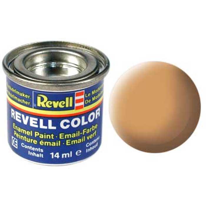 """Матовая краска """"Revell"""" телесного цвета имеет неяркий, насыщенный и спокойный цвет. Может использоваться в качестве тона для сборных пластиковых моделей пароходов, самолетов и другого транспорта. В сочетании с другими цветами дает новые интересные и необычные оттенки. Если есть необходимость окрашивания одного изделия несколькими красками, то желательно после каждого слоя подождать примерно четыре часа, чтобы предыдущее покрытие смогло просохнуть. Краска упакована в экономичную банку, что позволяет экономично ее расходовать, а после использования банку можно закрыть крышкой, чтобы избежать высыхания."""
