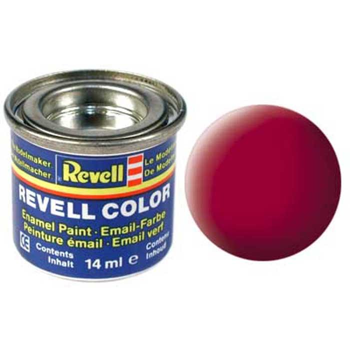 """Матовая краска """"Revell"""" карминного цвета пригодится для окрашивания сборных пластиковых моделей техники. Особенный оттенок станет отличным решением для многих автомобилей, сможет внести необычные элементы в оформлении самолета или корабля. Чтобы краска ложилась ровным слоем, необходимо наносить ее на чистую сухую поверхность. Если же до этого в качестве базового покрытия был нанесен другой цвет, желательно подождать минимум четыре часа, чтобы предыдущий слой хорошо просох. Краска упакована в экономичную банку, что позволяет экономично ее расходовать, а после использования банку можно закрыть крышкой, чтобы избежать высыхания."""