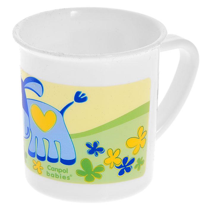 Чашка детская Canpol Babies, цвет: белыйVT-1520(SR)Детская чашка Canpol Babies идеально подойдет для малыша, она выполнена из прочного безопасного материала и оформлена изображением забавного ослика. Удобная ручка позволит малышу самостоятельно держать чашку. Характеристики: Размер чашки: 9 см х 7,5 см х 7 см. Изготовитель: Китай.