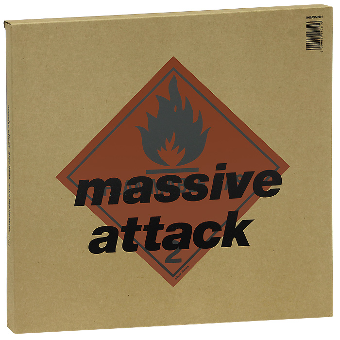 Massive Attack. Blue Lines 2012 Remix / Master (2 LP + CD + DVD)