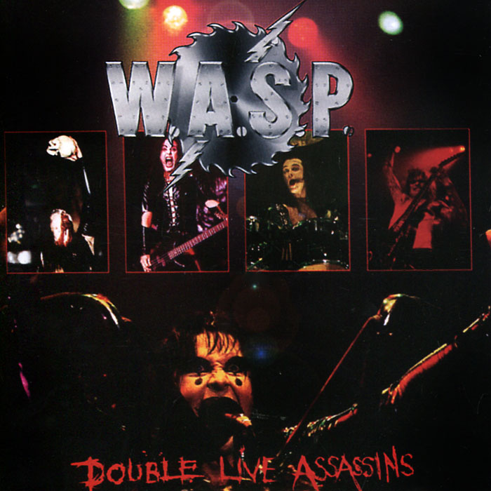 W.A.S.P. W.A.S.P. Double Live Assassins (2 CD) cd диск iron maiden live after death 2 cd